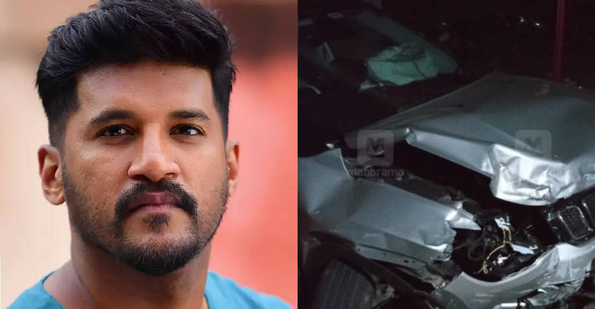 Vijay Yesudas safe after car accident on NH