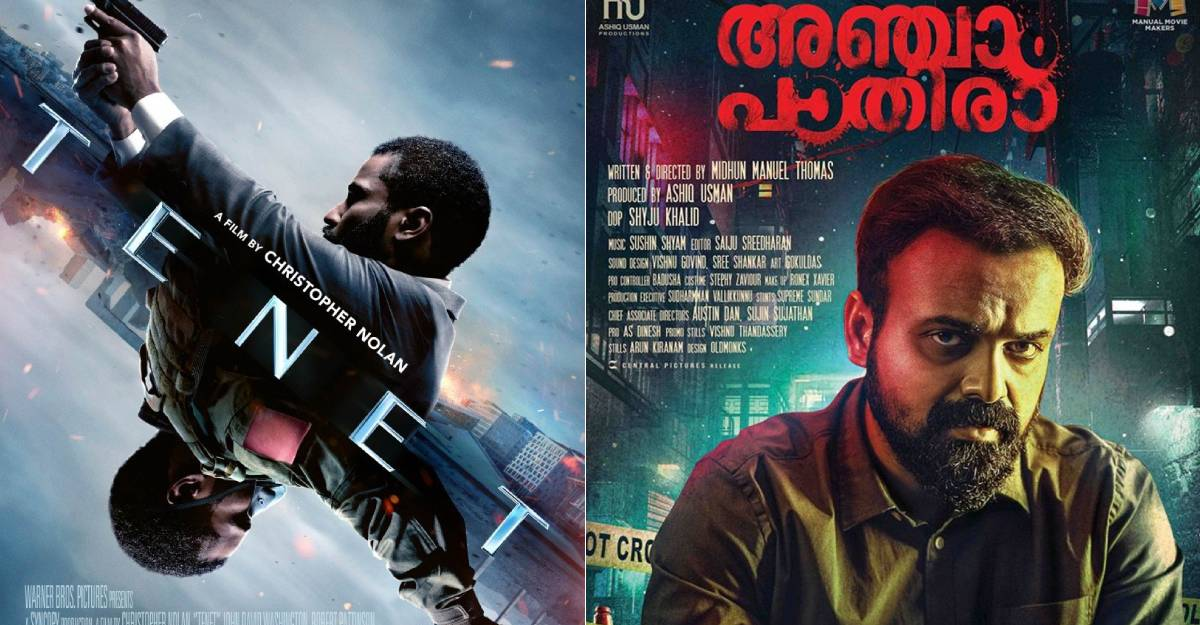 Tenet most watched film in India post lockdown, Anjaam Pathiraa among pre-lockdown list