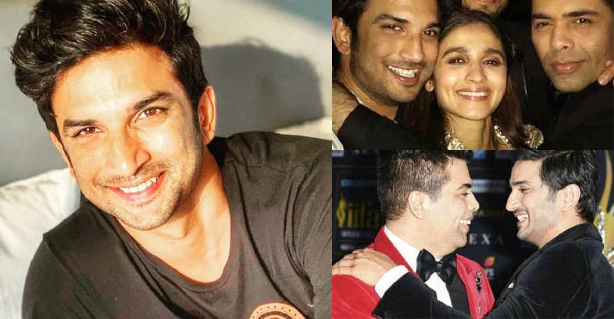 Sushant Singh Rajput, Who? Twitter reminds how Alia Bhatt responded to  actor's name  - sushant karan johar alia bhatt