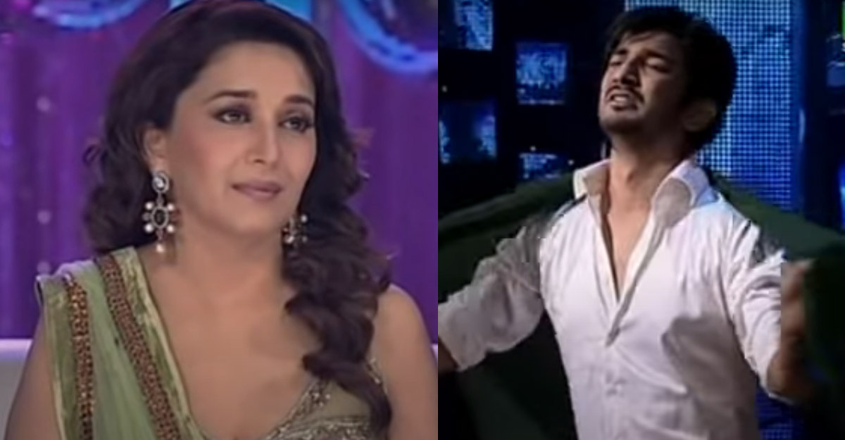 When Sushant Singh made Madhuri Dixit emotional with his dance
