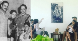 Three-in-one! Sukumaran family over the generations in this pic