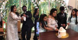 Watch: Vanitha Vijaykumar weds Peter while daughters turn bridesmaids