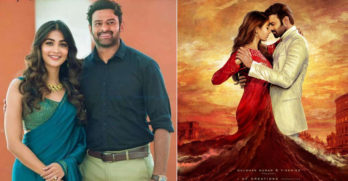 Prabhas 20 Titled Radhe Shyam First Look With Pooja Out