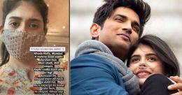 Sushant's 'Dil Bechara' co-star Sanjana pens cryptic note on never returning to Mumbai