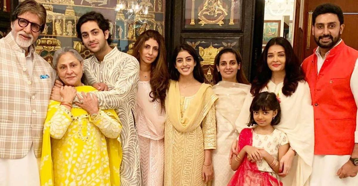Amitabh Bachchan shares family photo, thanks fans for their prayers