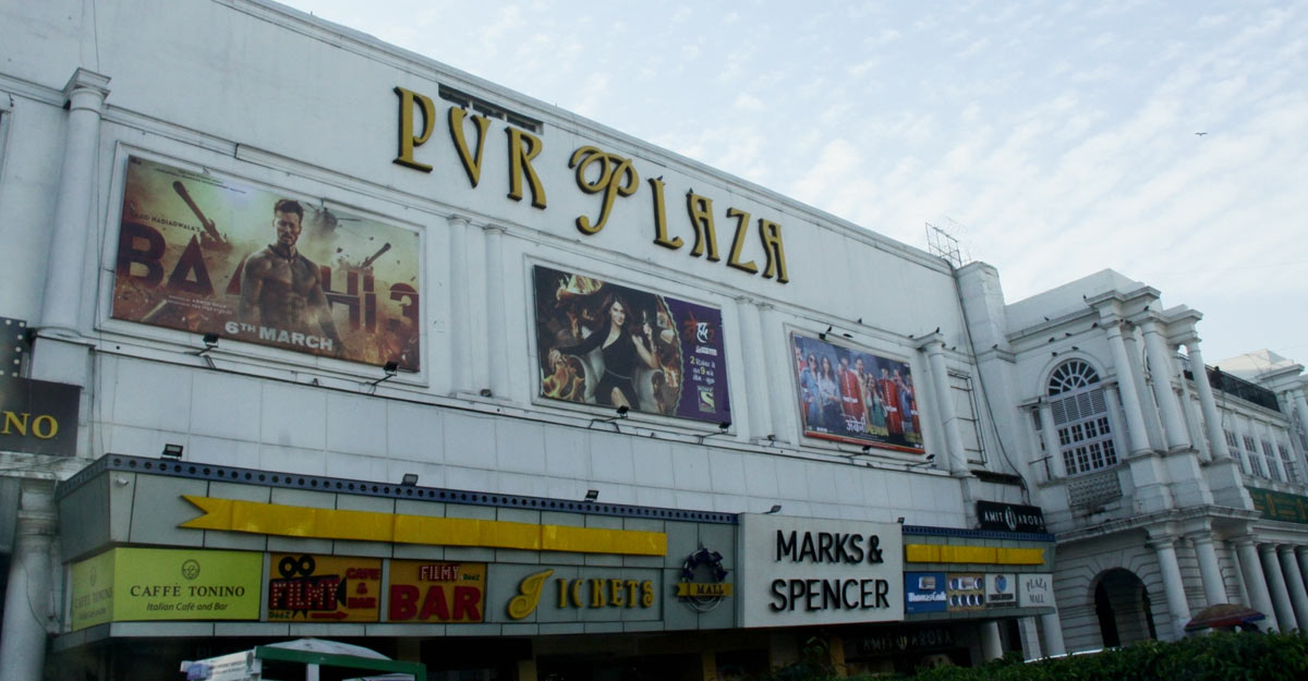New Delhi: Cinema halls in the Capital are waiting for an official government directive before shutting shop in the wake of the coronavirus outbreak, after Delhi Chief Minister Arvind Kejriwal announced in a tweet that all movie theatres would remain shut in the city till March 31; on March 12, 2020. (Photo: IANS)