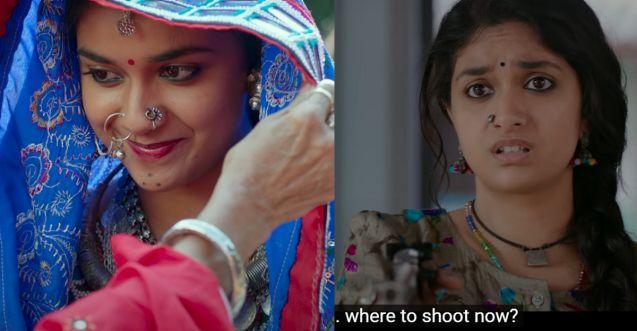 Good Luck Sakhi teaser: Keerthy Suresh is an aspiring shooter