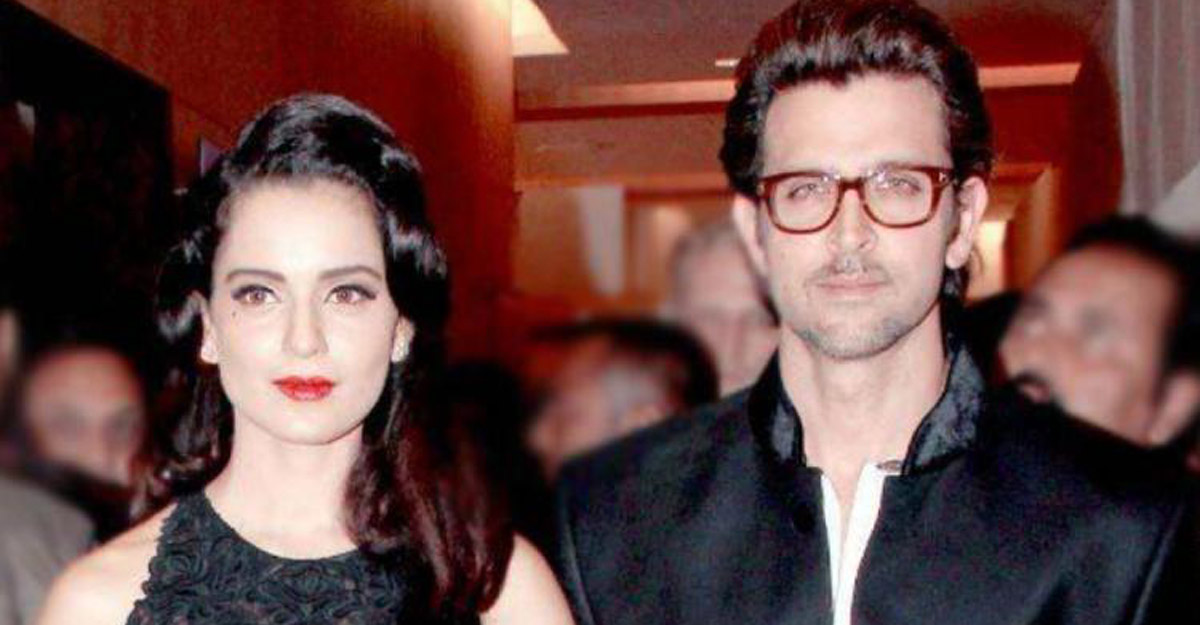 Kangana asks Hrithik Roshan to stop crying over a 'little affair'