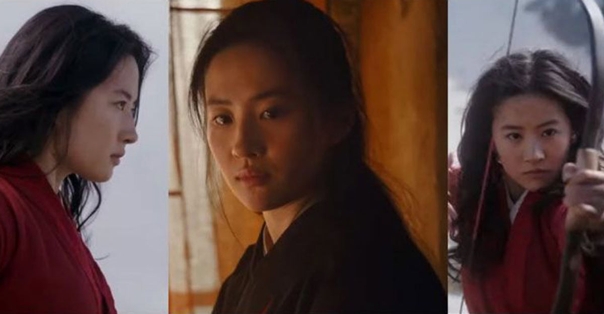 Stills from Disney's Mulan