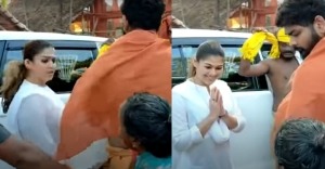 Nayanthara's adorable gesture to an old lady is winning the Internet!