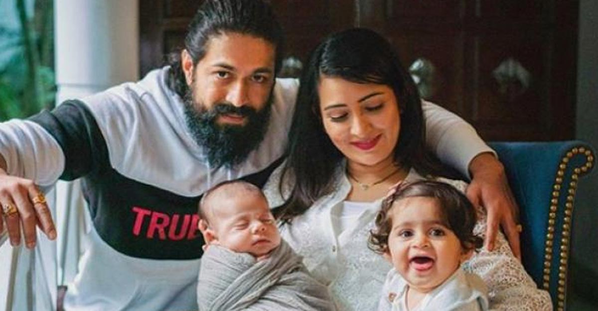 KGF star Yash has family time in the farmhouse