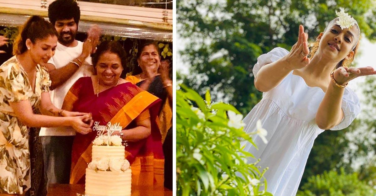 nayanthara-mom-birthday-vignesh-family