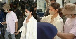 Watch: Deepika Padukone and Ranveer Singh reach Mumbai amid media frenzy ahead of questioning by NCB