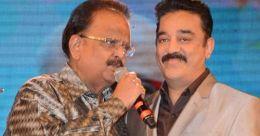 Kamal Haasan visits SP Balasubrahmanyam at hospital in Chennai
