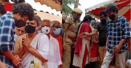SP Balasubrahmanyam funeral: Vijay pays final tributes