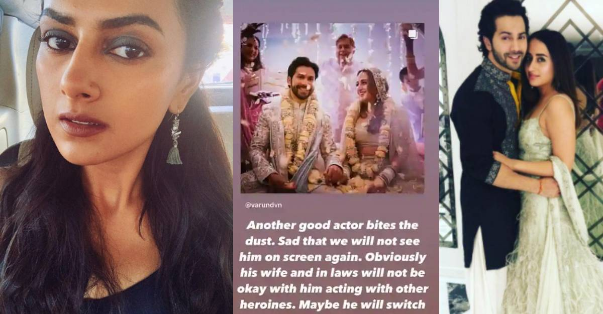 Shraddha Srinath wishes Varun Dhawan, asks if his wife and in-laws be okay with him acting with other heroines