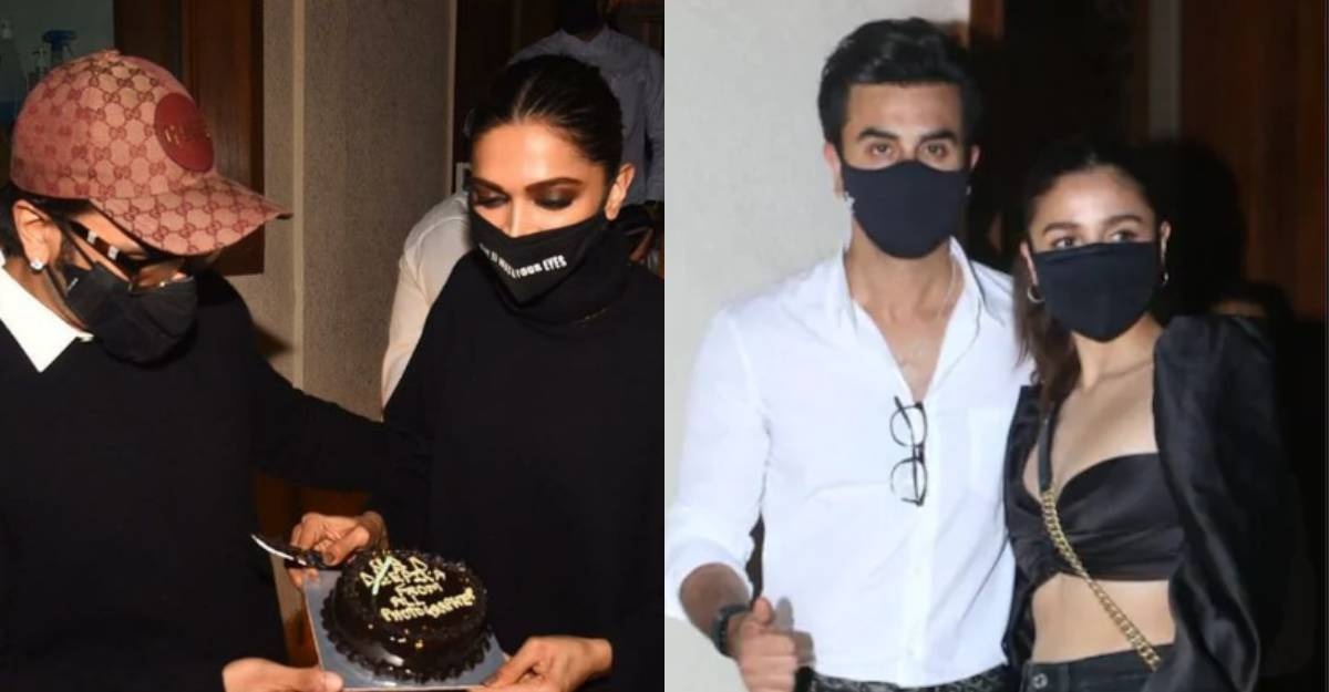 Ranbir Kapoor-Alia Bhatt attend Deepika Padukone's birthday bash, Ranveer Singh plays host