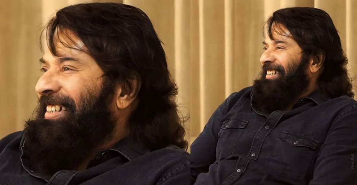 Mammootty's new look thrills his fans