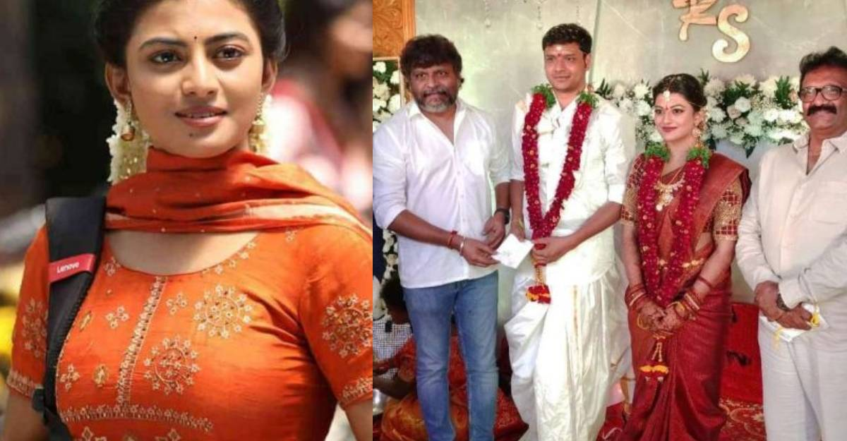 Actress Anandhi gets married to Socrates in a low-key ceremony