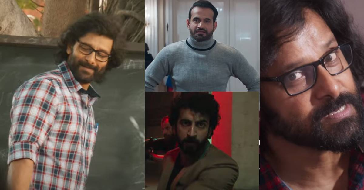 Cobra teaser: Fans say comeback film for Chiyaan Vikram, watch out for Irrfan Pathan & Roshan Mathew