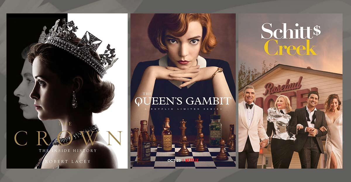 Golden Globes 2021: 'The Crown', 'Schitt's Creek' get most nods in TV categories