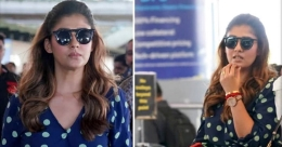 Nayanthara spotted at airport, heads for Thalaivar 168 shoot