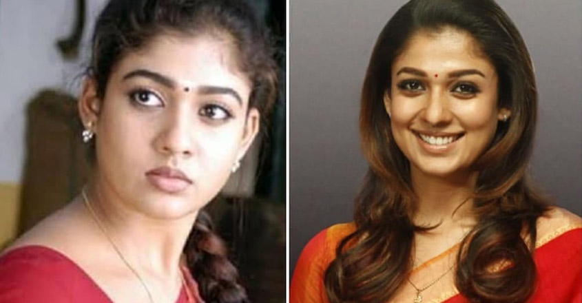 nayanthara-then-and-now