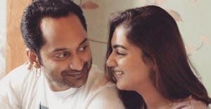 When Nazriya got smitten by Fahadh's eyes