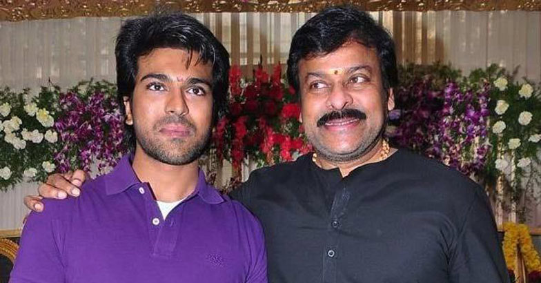 Ram Charan styled dad Chiranjeevi in 'Bruce Lee'