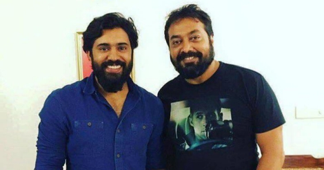 Nivin Pauly with Anurag Kashyap