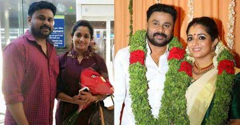 Dileep and Kavya