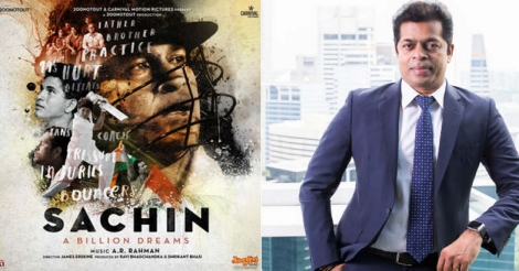 The Malayali hand behind the making of Sachin's 'billion dreams'