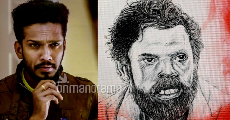 This artist's tribute to actor Vinayakan is worthy of mass applause