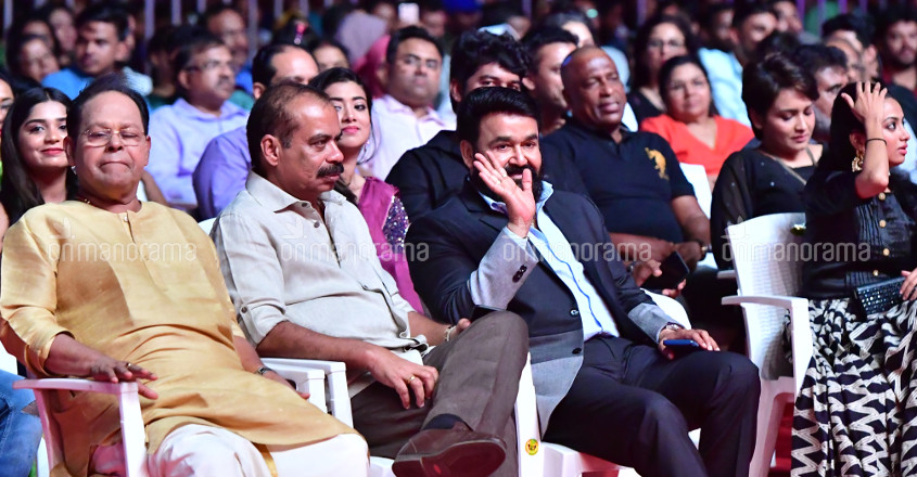 Innocent, Sathyan Anthikkad and Mohanlal
