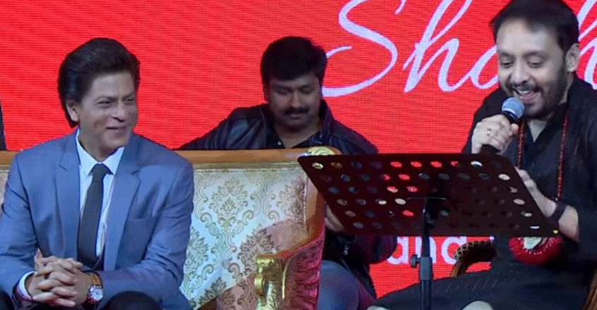 Here's the Malayali singer who wowed King Khan with his melodies