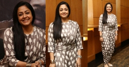"""""""It is difficult to act alongside Suriya,"""" reveals Jyothika 