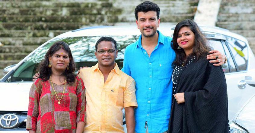 dharmajan-pisharody-family