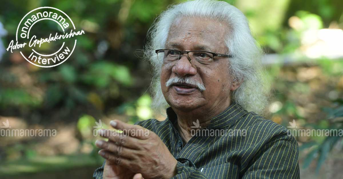 I can't imagine people watching films on mobile: Adoor Gopalakrishnan
