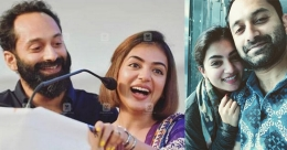 Fahadh, Nazriya open up about acting together before and after marriage