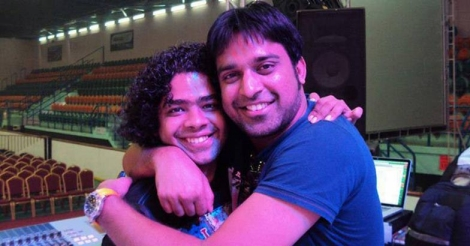 Naresh Iyer with Stephen Devassy
