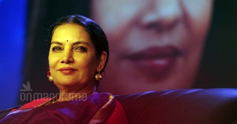 Age not a constraint for actors any more: Shabana Azmi
