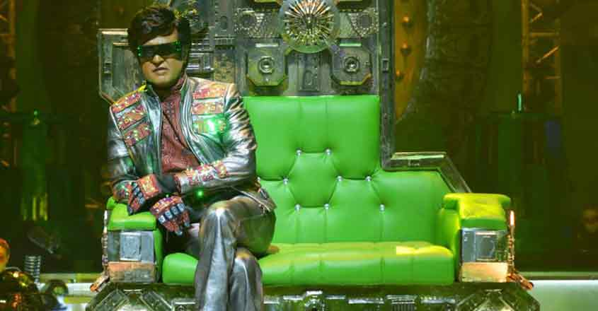 2.0 review: Shankar's grandeur, Rajini's style