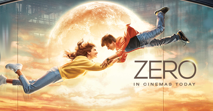 Zero - a bearable love story quivering over disability theme