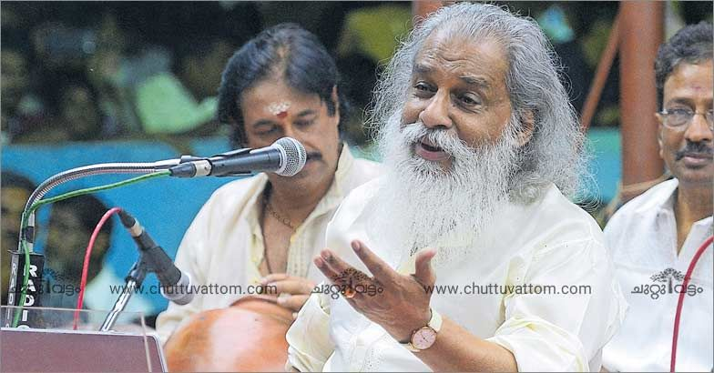 Yesudas spends his 80th birthday at Mookambika Temple