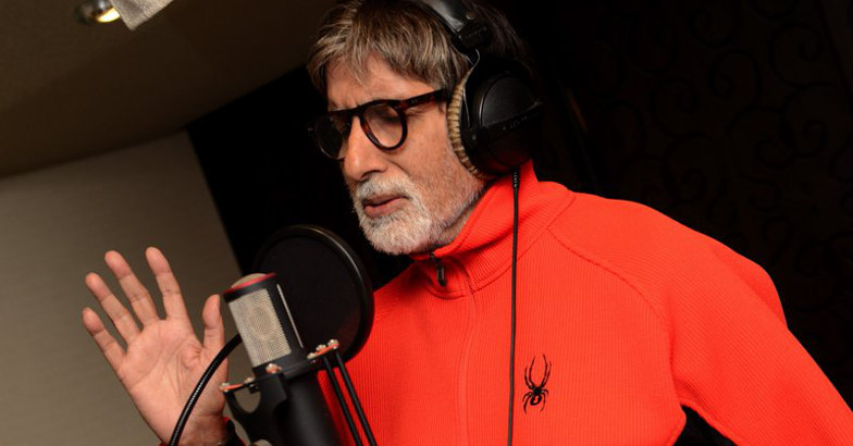 Big B records song of '102 Not Out' despite 'medical procedures'