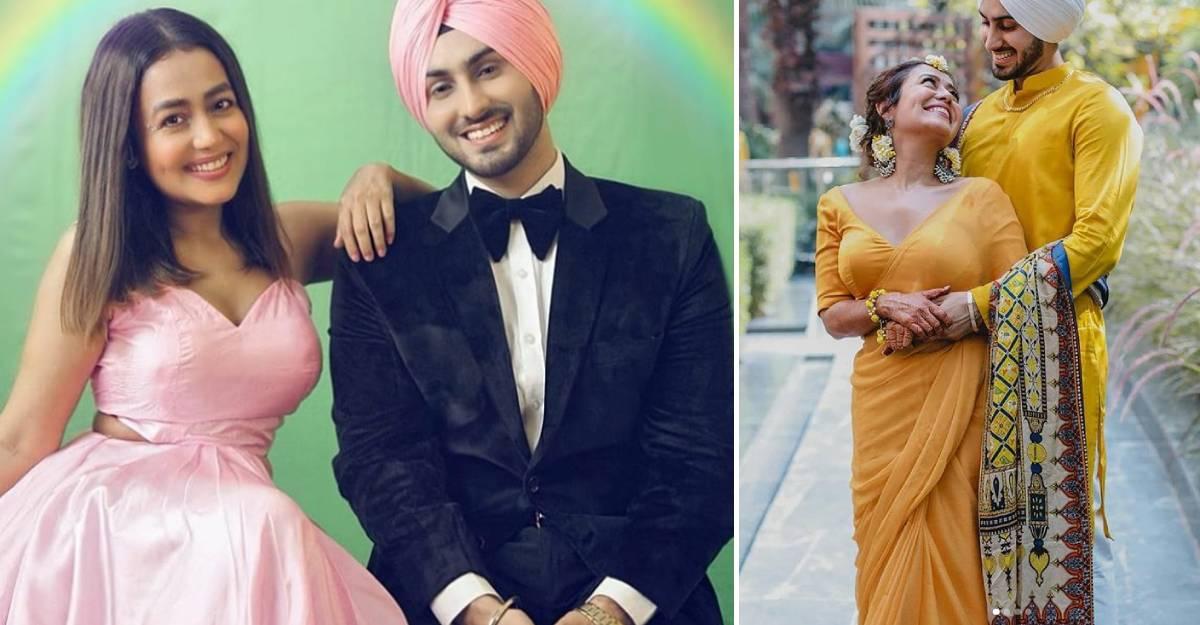 Singer Neha Kakkar ties the knot with Rohanpreet Singh