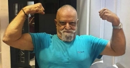 Jayachandran becomes 'muscleman' during lockdown