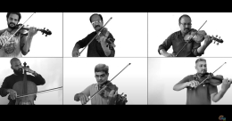 17 artists from 6 cities come together for a Qawali song