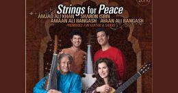 Ustad Amjad Ali Khan and sons collaborate with Grammy winner Sharon Isbin