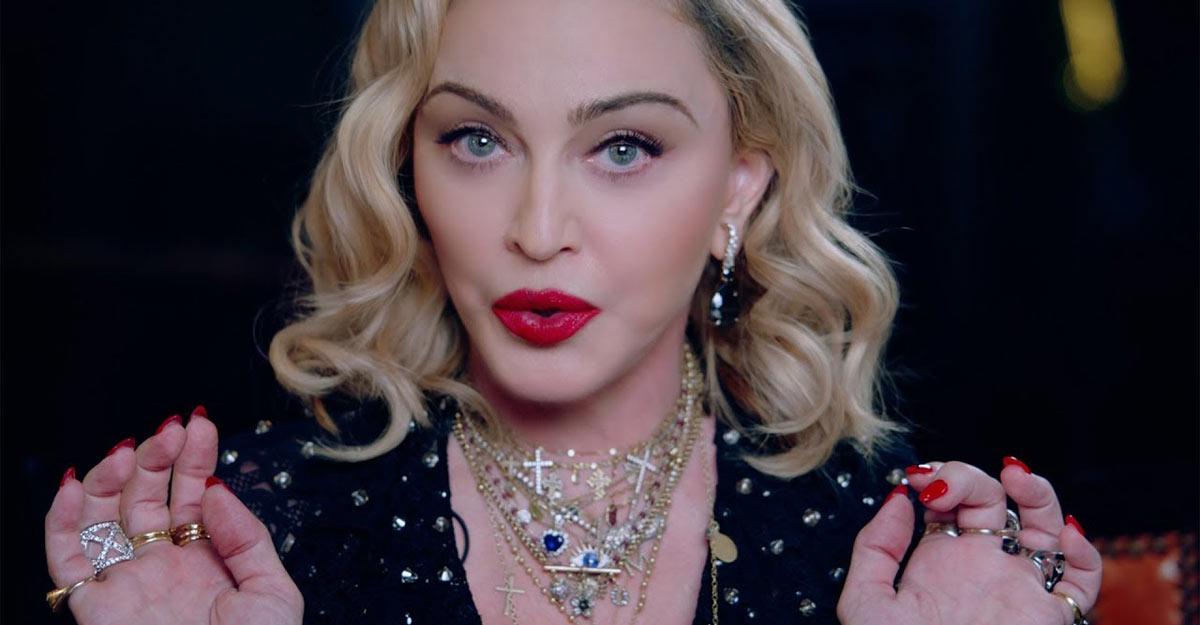 Мадонна открытые фото